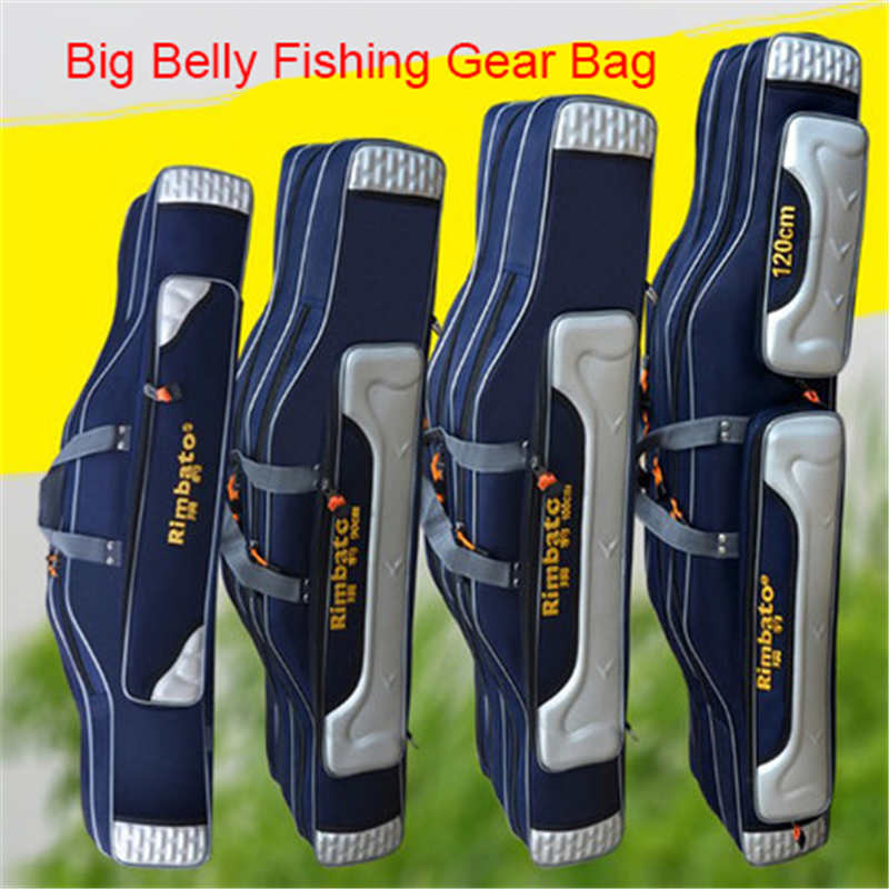 2019 Spring New Wear-Resistant Belly Belly Ffishing Gear Bag Thick Waterproof And Comfortable Outdoor Fishing Bag Sea Otter Bag