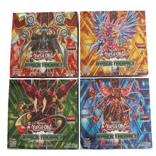 Yugioh Board Cards Kids Game Cards English Version Yu Gi Oh Game Collection Cards 216pcs /set With Box(China)