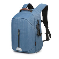Large Capacity Multi functional Waterproof Camera Backpack Travel Bag Camera Photo Bag With USB Charging Port