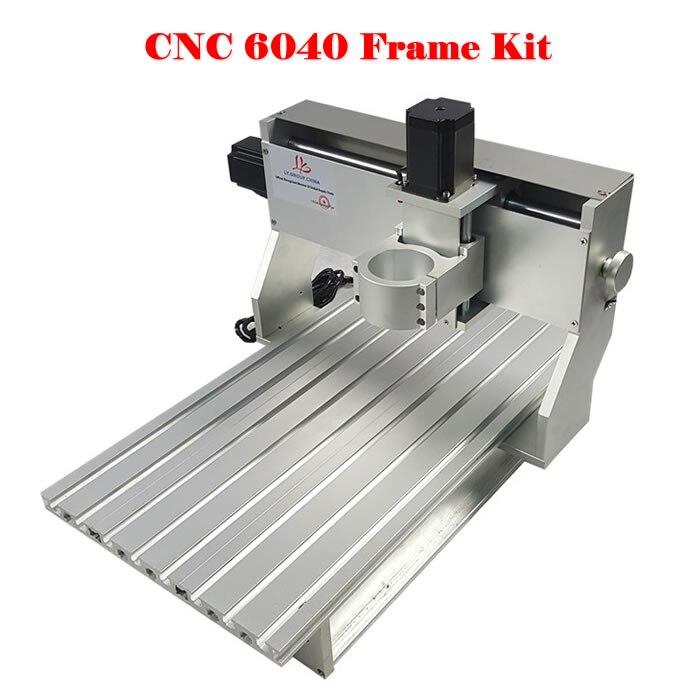 Bricolage CNC routeur 6040 CNC cadre avec vis à billes moteur pas à pas