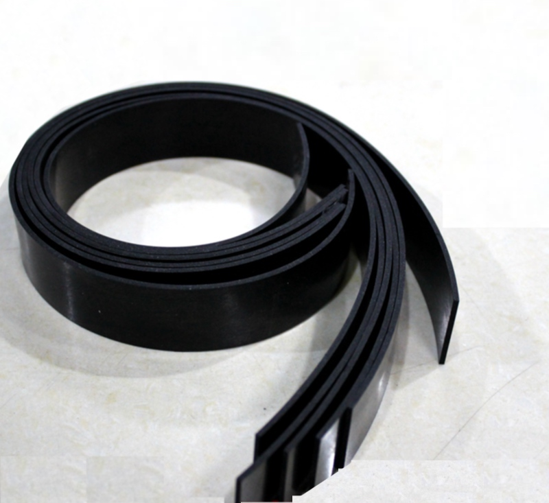Solid Rubber Bar Seal Strip Flat Insulation Shock Cushion Antiskid Buffer 10 20 30 <font><b>35</b></font> 40 45 x 1 <font><b>2</b></font> <font><b>3</b></font> 4 <font><b>5</b></font> <font><b>6</b></font> 8 10mm 2m Black image