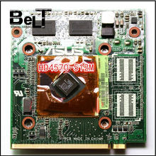 Dành cho Asus K50AB K51AB K70AB X70AB K70AF X70AF X66IC Laptop HD4570 HD 4570 512MB VAG Card(China)