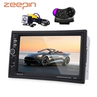Zeepin 7020G 2 Din Auto Car Multimedia Player GPS Navigation 7'' HD Touch Screen MP3 MP5 Audio Stereo Radio Bluetooth FM USB