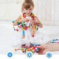 30 unids diy cambiar cuentas de los niños educativos de inteligencia de juguete de plástico juego