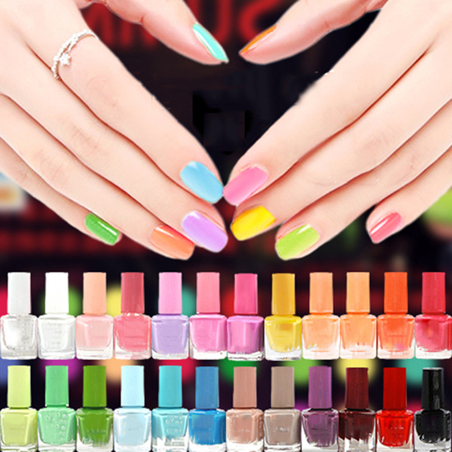 42 Colors of Nail Polish Quick Dry