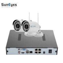 SunEyes SP-VK1821W-E-POE 2CH IP CCTV Camera NVR Kit 1SATA Port with 2pcs Wireless POE 1080P Full HD Mini IP Camera Outdoor P2P