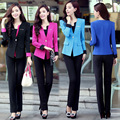 3XL Plus Size Summer Style Elegant Women Pants Suits Women Business Suits Formal Office Suits Work Blazer Feminino Trouser Suit