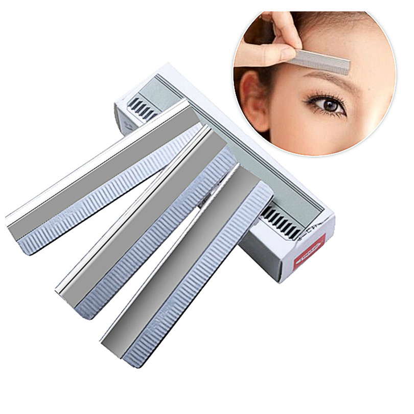 Hand Tools Diligent 5 Beauty Hair Trim Women Eyebrow Scissor Comb Eyelash Cosmetic Makeup Girl Eye Brow Trimmer Lady Tool Shear Groom Comfortable Feel