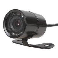 Uniwersalny IR widzenie nocne z wykorzystaniem podczerwieni tylna kamera samochodowa 120 stopni szeroki kąt wodoodporna Auto cofania kamera cofania w Kamery pojazdowe od Samochody i motocykle na