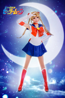 Gratis Verzending Sailor Moon Tsukino Usagi Sailor Dress Anime Cosplay Kostuum/Cosplay Pruik