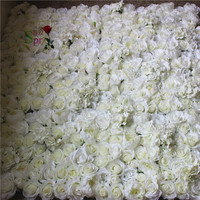 SPR Бесплатная доставка 10 шт./лот искусственного шелка розы стены с зеленой пион свадьба фон арки цветок украшение стола flor