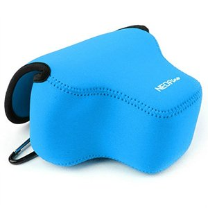Image 2 - Portable Protective Soft Case Cover Waterproof Inner Camera Bag for Canon Powershot SX70 HS SX60 HS / Fujifilm X T3 18 55mm lens