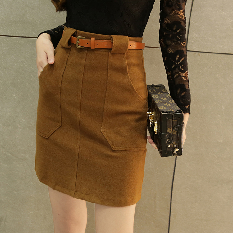 vintage skirts women 2017 spring autumn winter korean vestido feminina fashion thin cloth high waist skirts female Y0724
