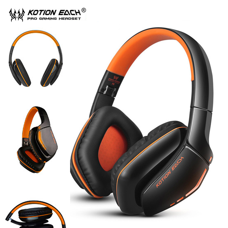 kotion each b3506 gaming headset wireless bluetooth. Black Bedroom Furniture Sets. Home Design Ideas