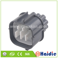 O envio gratuito de 1 conjunto 14pin conector de cabo de plástico automático plug cablagens à prova dwaterproof água plug conector 6181 0077|Conectores| |  -