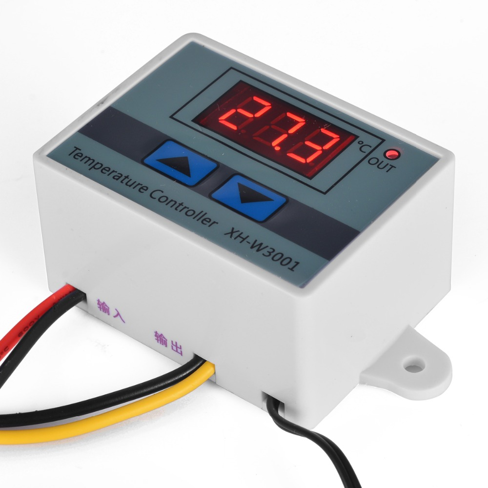 220V Digital LED Temperature Controller 10A Thermostat Refrigeration Heating Control with Switch for Seafood Machines Mayitr clevo w550eu w540bat 6 6 87 w540s 4271 6 87 w540s 4u4 6 87 w540s 4w42 6 87 w540s 427 battery