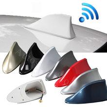 Antena de sinal de rádio de tubarão para carro, acessórios de antena automotiva em forma de barbatana de tubarão para ford kuga fiesta focus mondeo mk1 mk2 mk3 mk4 ranger c max 2 3