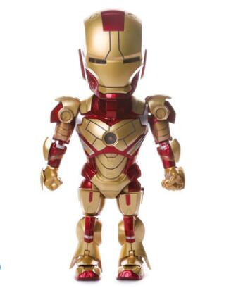 Cool voice-activated luminescent joint moving iron man model as souvenirs and gifts for students18cm free shoppingCool voice-activated luminescent joint moving iron man model as souvenirs and gifts for students18cm free shopping