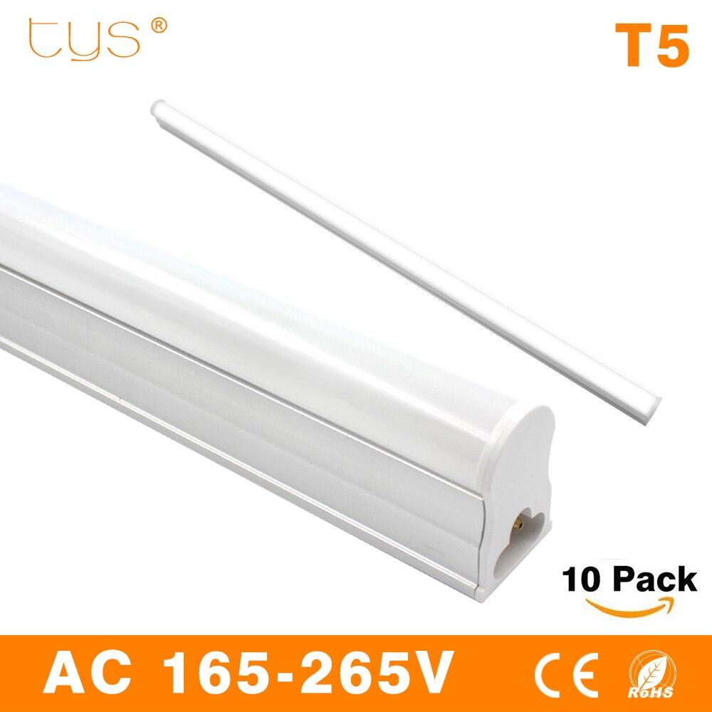 10pcs/lot LED Tube Light T5 led tube 10W SMD 2835 600mm Lamps AC165~265V Cold /Warm White lampada LED spotlight lighting 2016 integrated led tube light t5 900mm 3ft led lamp epistar smd 2835 11watt ac110 240v 72leds 1350lm 25pcs lot