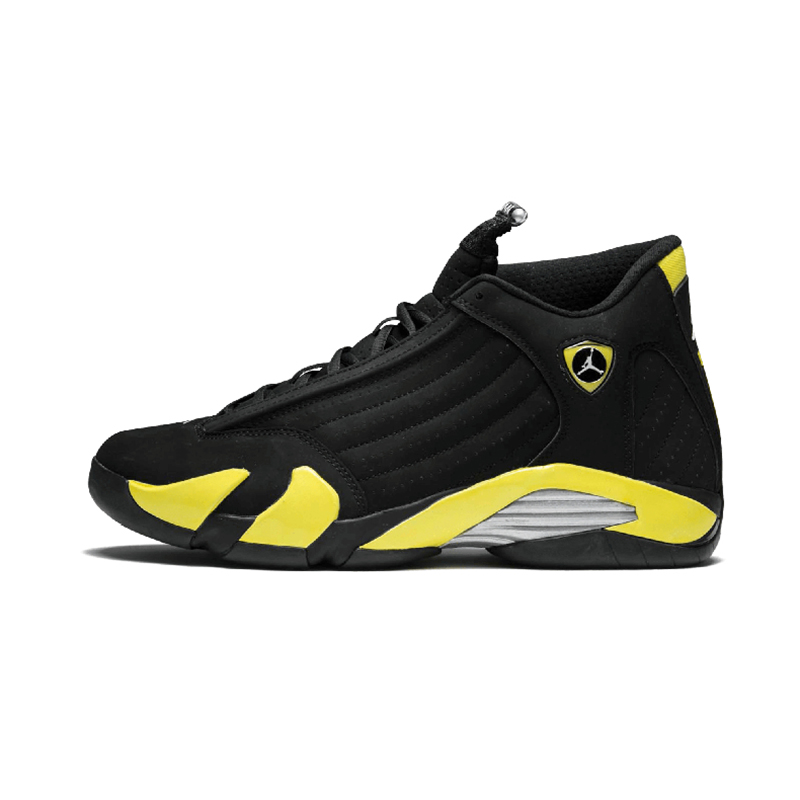Original Authentic NIKE Air Jordan 14 Retro Men's Basketball Shoes Sport Outdoor Sneakers Medium Cut Lace-Up Good Quality 487471 71