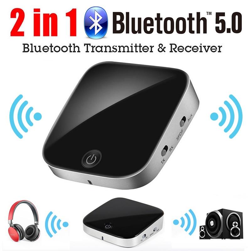 VTIN récepteur sans fil émetteur 2.4G Bluetooth 5.0 Fiber optique 3.5mm adaptateur AUX pour PC TV casque 10 M adaptateur sans fil