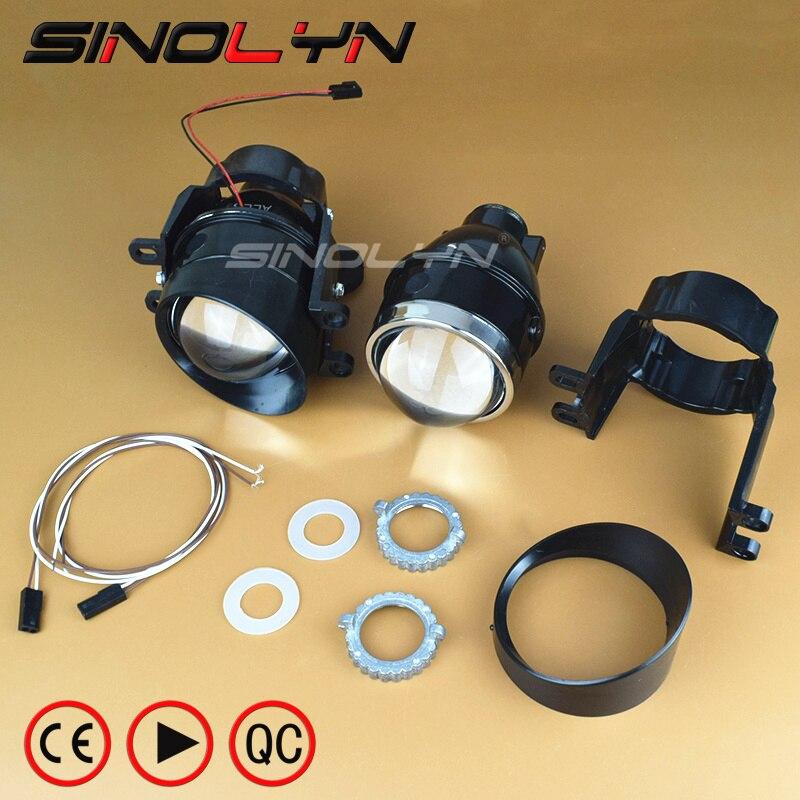 SINOLYN Бифокальные биксенон проектор объектив туман Лампа управляя света супер яркий Вт/ HID лампы d2h по Водоустойчивая для Тойота Королла/Камри