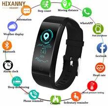 Купить с кэшбэком 2019 Smart Watch Sports Fitness Activity Heart Rate Tracker Blood Pressure Watch Support for SMS/WhatsApp/ Facebook/ Twitter 30