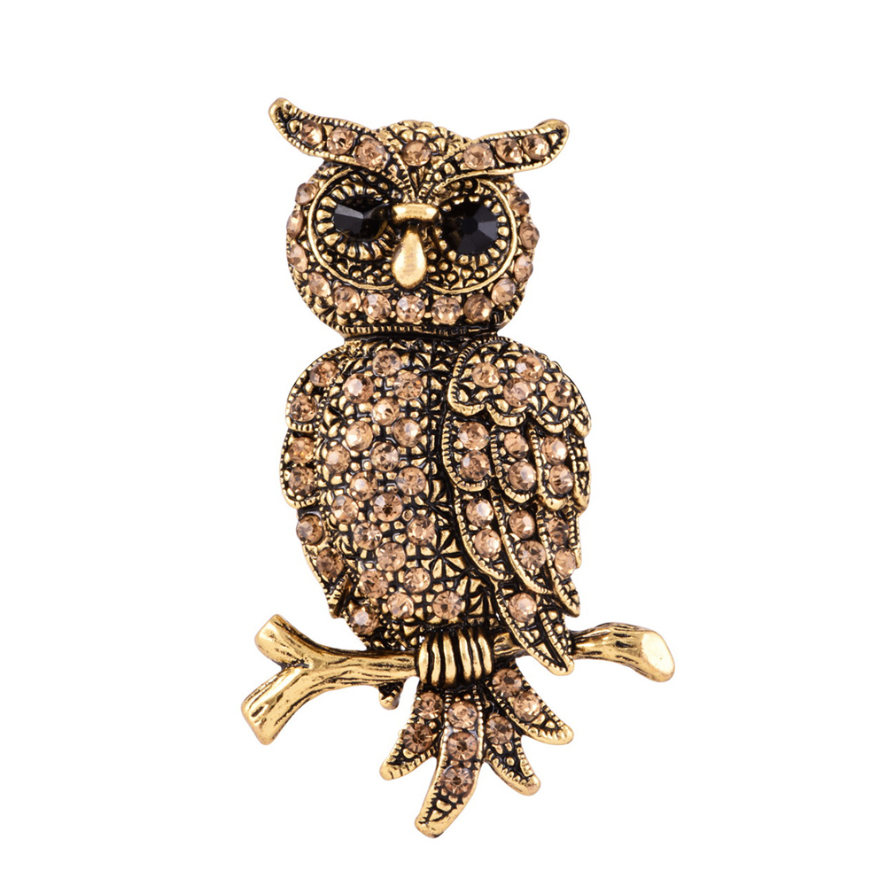 89389cc3d5e Wholesale Price Owl Shape Jewelry Clothes Brooches Pins for Women ...