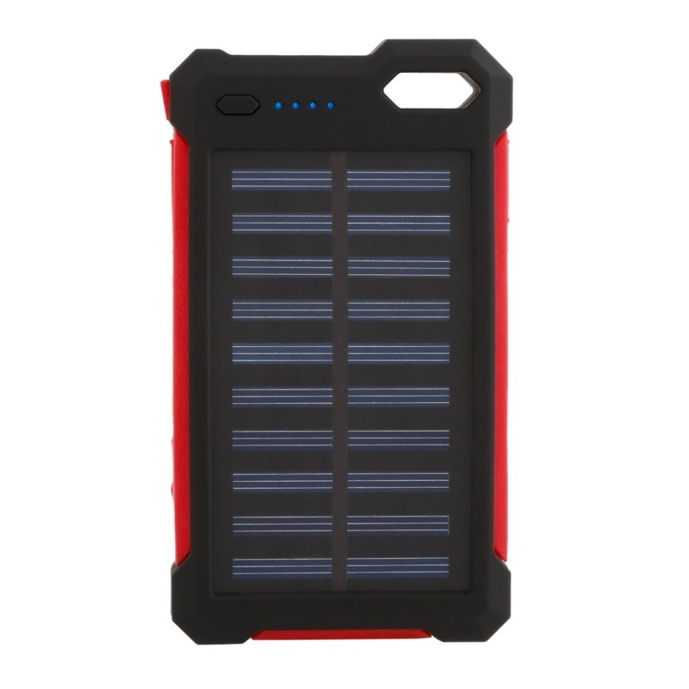 30000 mah Solar Batterie Tragbare Ladegerät Dual USB Externe Batterie Langlebig Hohe Kapazität für Handy Solar