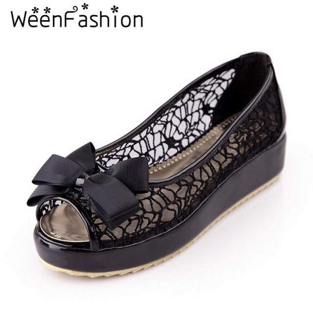 Sandals Women Flip Flops Chaussure Femme Sandalias Mujer Sweetl Peep Toe Flat Mesh Casual Wedges Leather Melissa Summer Shoes