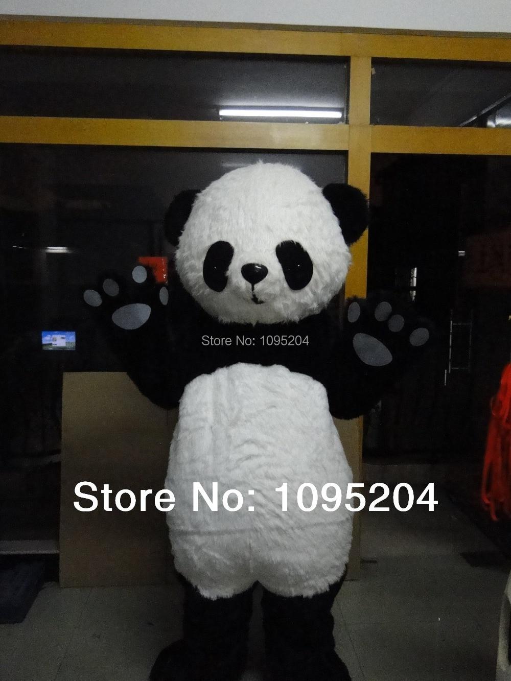 Panda mascotte kostuum te koop Panda mascotte kostuum karakter - Carnavalskostuums