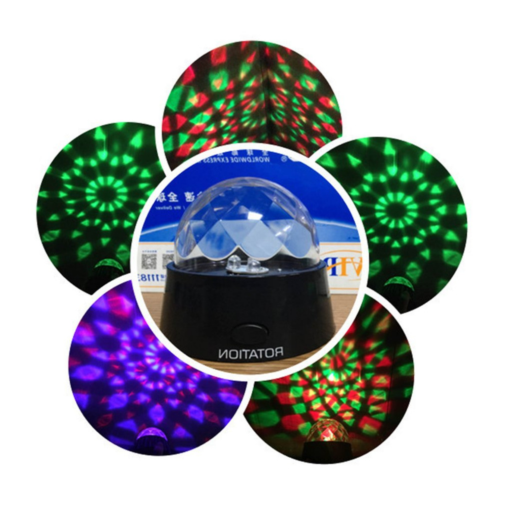 Sky Light USB Night Lamp Portable Fashion Colorful Starry  Rotating Projector LED Colorful Round Romantic  Unique Gift sxzm dc5v usb colorful led light aurora sky holiday gift led starry night light lamp ocean wave projector with remote controller
