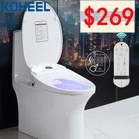 ЖК дисплей Temperare дисплей умное сиденье для унитаза Smart крышка туалет автоматический электрический пульт дистанционного туалет тело средст