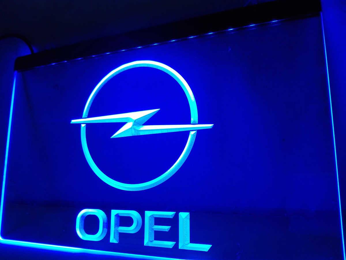 Neon A Accrocher Au Mur lg156 opel led enseigne au néon accrocher signe décoration
