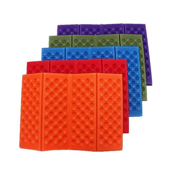 Outdoor Folding Chair Foldable Foam Mat XPE Foam Four Fold Folding Cushion Moisture-proof Waterproof Picnic Mat Best Selling