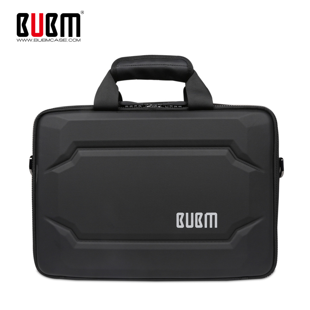 BUBM EVA Hard Laptop Bag, Messenger Bag Sleeve Travel Organize Case For Electronics Accessories, Hold Up To 11/13 Inch Notebook