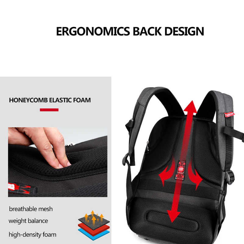 53adb04615 ... Tigernu Brand 15.6inch Laptop Backpack Waterproof Men Women Backpacks  Slim Unisex School bags Bagpack for