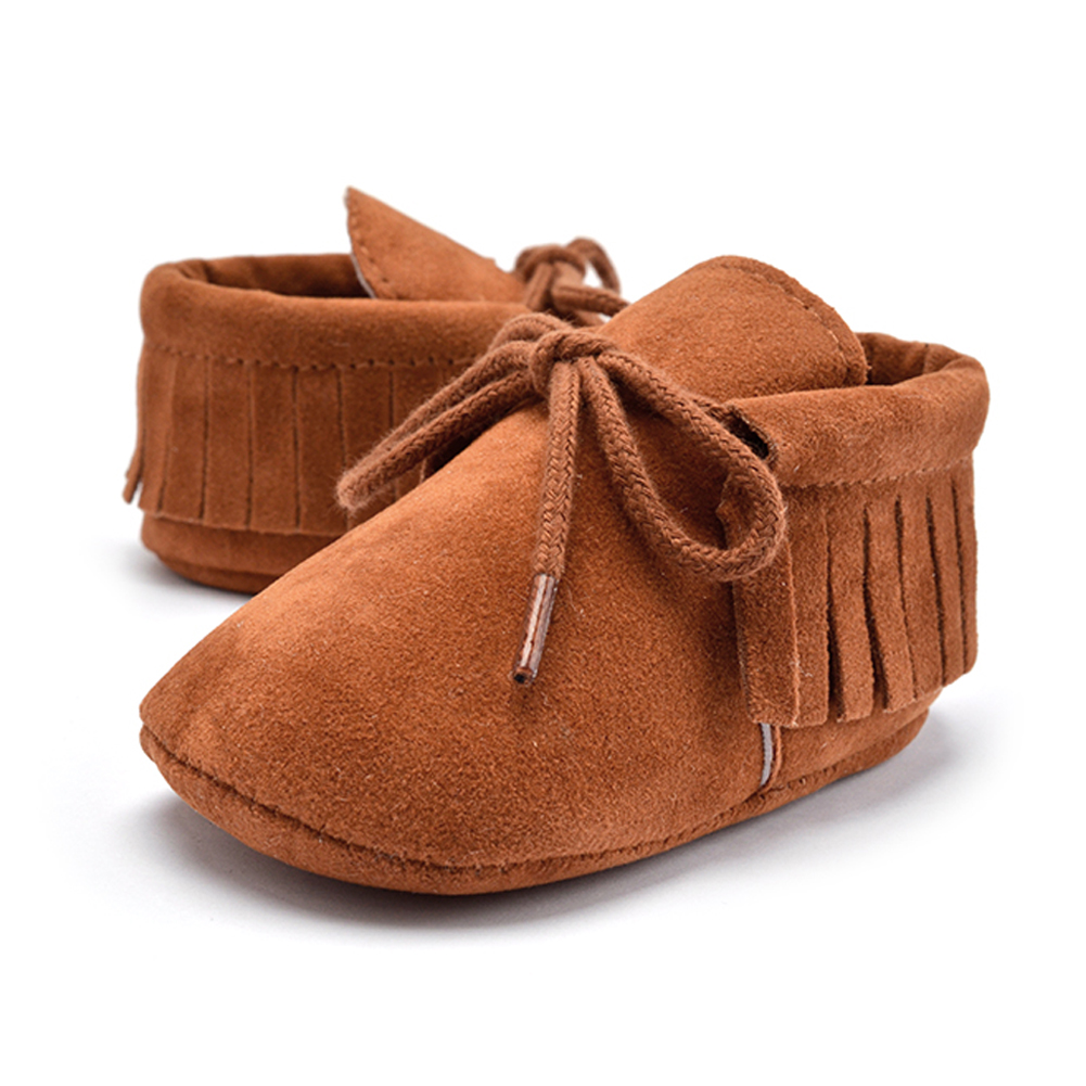 Baby Tassel Soft Sole Leather Shoes Infant Boy Girl Toddler Moccasin Shoe Baby Casual Shoes