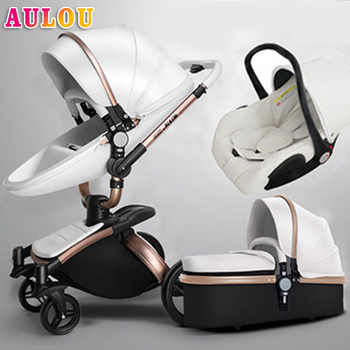 AULON Oyun Long baby trolley cortical bi-directional high-view shock absorber baby carriage can sit in the cart - DISCOUNT ITEM  59 OFF Mother & Kids
