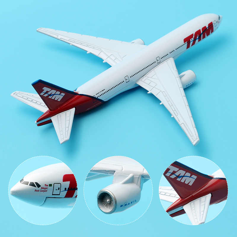 Detail Feedback Questions about 16cm Brazil GOL Boeing 737 800