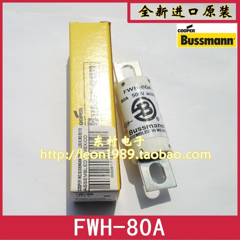 [SA]US imports Bussmann Fuses FWH-80A FWH-80B 500V fuse  --3PCS/LOT lina сарафан