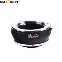K&F CONCEPT MD FX Camera Lens Adapter Ring For Minolta MD MC Mount Lens to for Fujifilm X Mount X Pro1 Camera Body