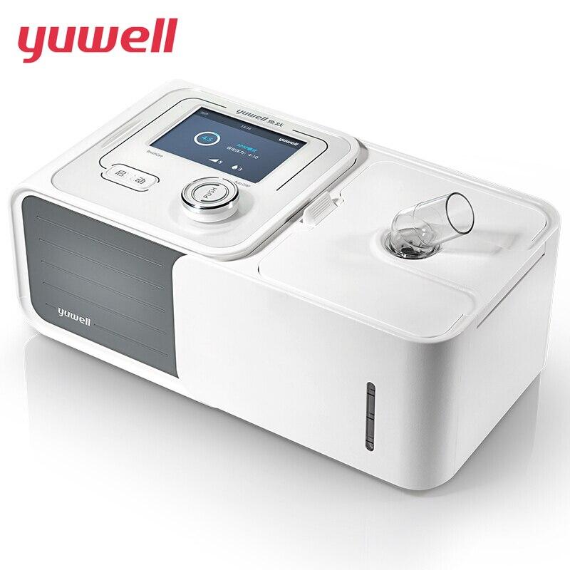 Yuwell Авто CPAP дома машина YU560 респиратор сна храпа апноэ Стоп храпа с увлажнитель Маска Мешок шланга Бесплатная доставка YU560