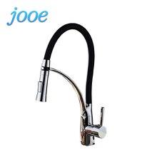 Jooe смеситель для кухни Медь горячей и холодной водопроводной воды на бортике кухне кран Смеситель Torneira monocomando Banheiro