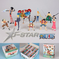 EMS Shipping 6 sets 2.5 4 One Piece After 2 Years The Fishman Island Set PVC Action Figure Collection Model Toy (9pcs per set)
