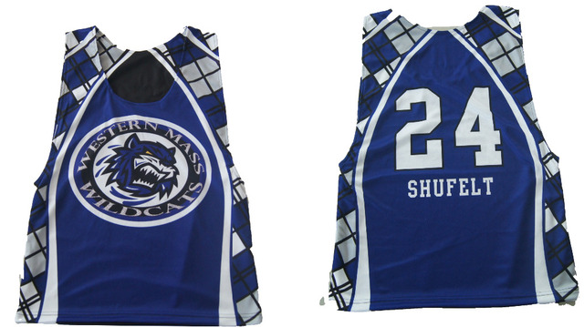 Custom mesh pinnies sublimated lacrosse jerseys for team-in Ice ... d42f66193