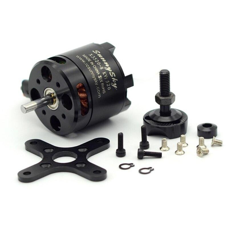 1 piece X3520 KV520 KV720 Brushless Motor For RC Models FPV Quadcopter drones