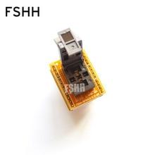 QFN8 в корпусе dip8 программист адаптер WSON8 dfn8 размером MLF8 тест гнездо=0.5 мм=3х3мм