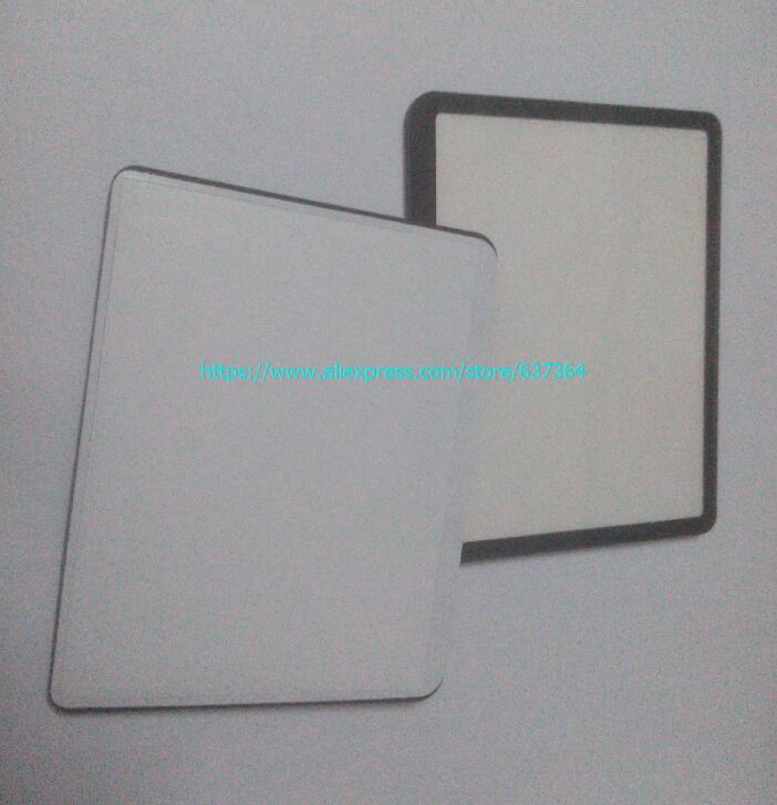 2 PCS For Canon PowerShot G9 Outer LCD Screen Display Window Glass Replacement Repair part