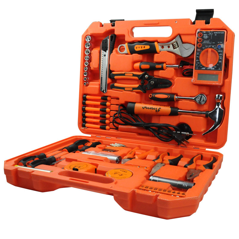 56PCS  Hardware Tools Combination Wrench Screwdriver Multimeter Sets Household  Tools Repair DIY Woodworking Tools